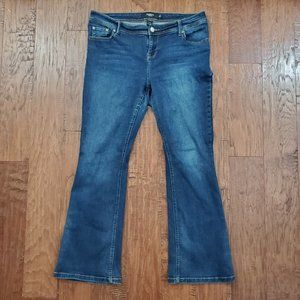 TORRID Dark Denim Modern Slim Bootcut Jeans 14S 14